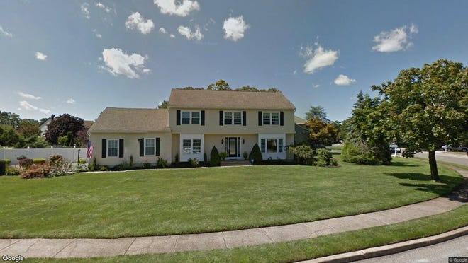 This Google Street View image shows the approximate location of 1045 Sheila Drive in Toms River. The property at this address changed hands in September 2019, when new owners bought the property for $460,000.