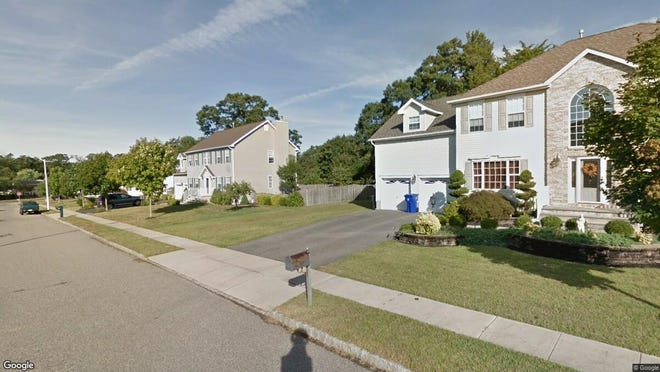 This Google Street View image shows the approximate location of 764 Jacqueline Court in Toms River. The property at this address changed hands in September 2019, when new owners bought the property for $453,500.