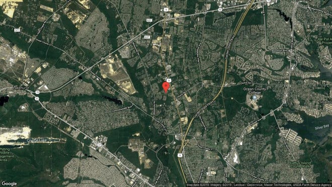 This aerial photo shows the approximate location of 1733 Lands End Drive in Toms River. The property at this address changed hands in September 2019, when new owners bought the property for $620,000.
