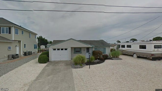 This Google Street View image shows the approximate location of 5 Peg Leg Way in Waretown. The property at this address changed hands in September 2019, when new owners bought the property for $210,000.