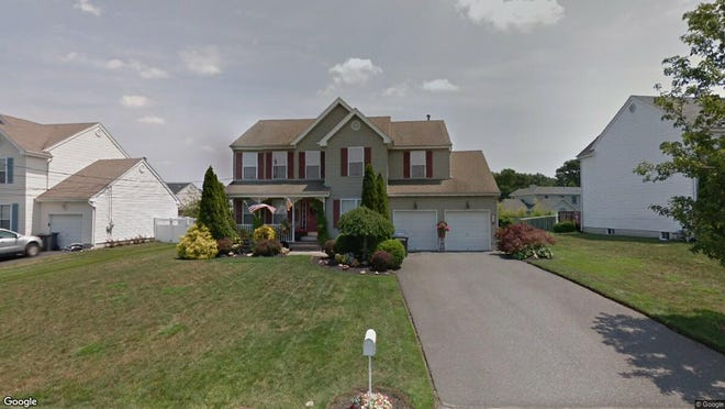 This Google Street View image shows the approximate location of 344 Leeward Road in Stafford. The property at this address changed hands in July 2019, when new owners bought the property for $347,000.
