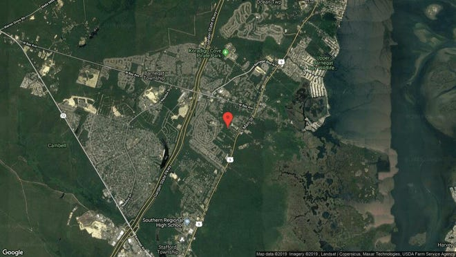 This aerial photo shows the approximate location of 7 Cherry St. in Barnegat. The property at this address changed hands in September 2019, when new owners bought the property for $356,000.