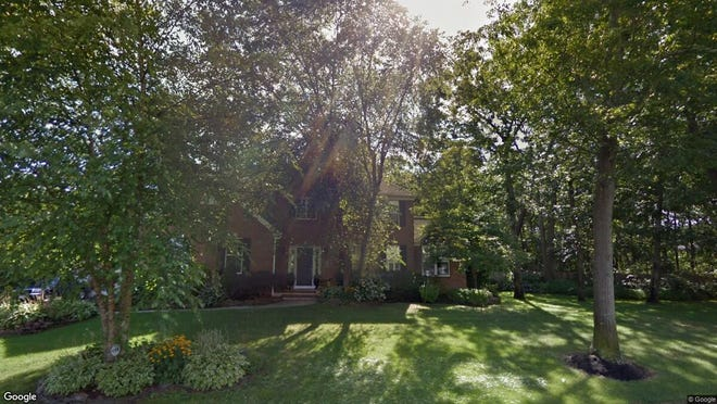 This Google Street View image shows the approximate location of 7 Stoneham Drive in Brick. The property at this address changed hands in September 2019, when new owners bought the property for $626,000.