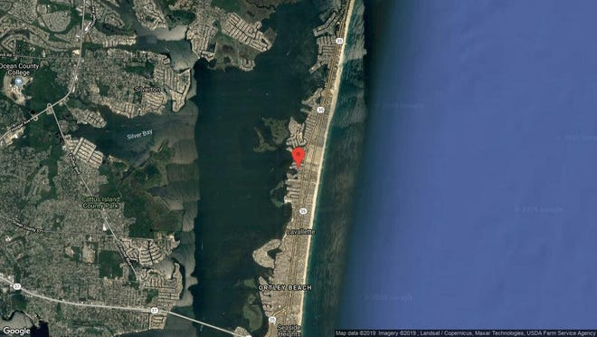 This aerial photo shows the approximate location of 223 Harbor Drive in Toms River. The property at this address changed hands in September 2019, when new owners bought the property for $427,500.