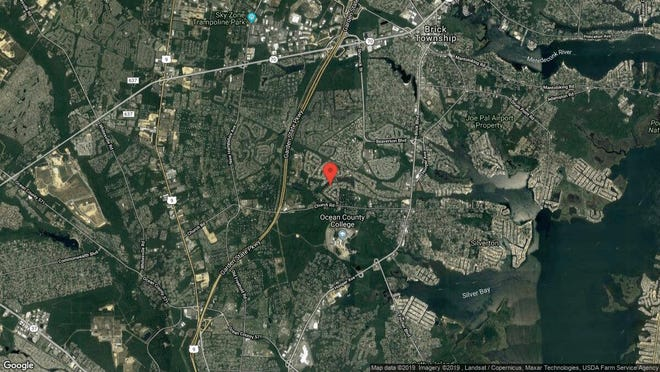 This aerial photo shows the approximate location of 1844 Hovsons Blvd. in Toms River. The property at this address changed hands in September 2019, when new owners bought the property for $215,000.