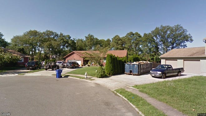 This Google Street View image shows the approximate location of 1882 Greenwood Road in Toms River. The property at this address changed hands in October 2019, when new owners bought the property for $345,000.