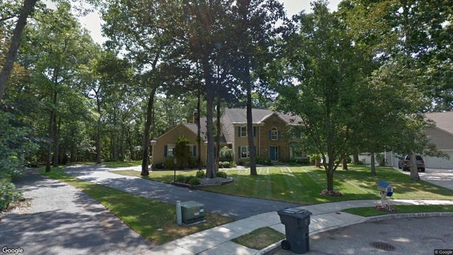 This Google Street View image shows the approximate location of 1708 Waterberry Court in Toms River. The property at this address changed hands in September 2019, when new owners bought the property for $480,000.