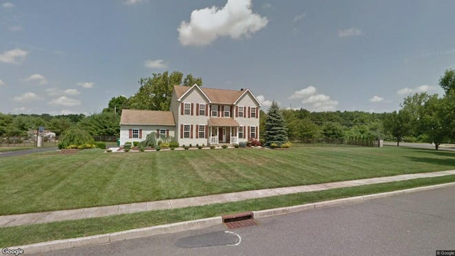 This Google Street View image shows the approximate location of 12 Letitia Drive in Plumsted. The property at this address changed hands in September 2019, when new owner bought the property for $419,000.