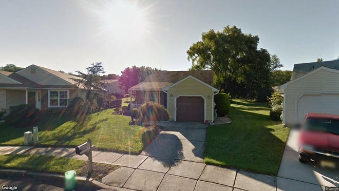 This Google Street View image shows the approximate location of 10 E. Cortland Court in Mount Laurel. The property at this address changed hands in September 2019, when new owners bought the property for $260,000.