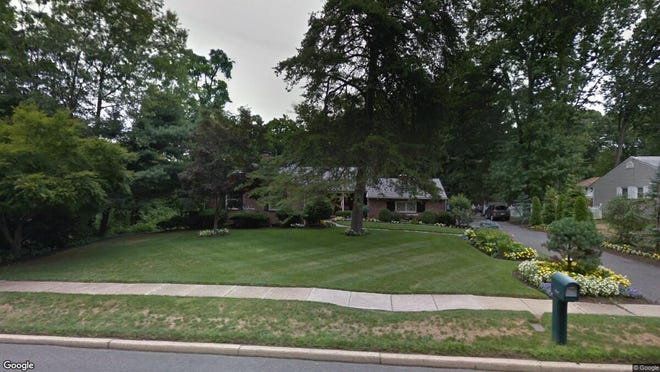 This Google Street View image shows the approximate location of 1047 Riverton Road in Cinnaminson. The property at this address changed hands in August 2019, when new owner bought the property for $170,000.