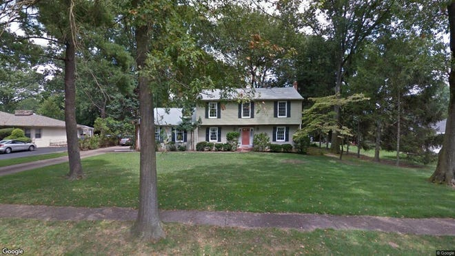 This Google Street View image shows the approximate location of 1210 Washington Ave. in Cinnaminson. The property at this address changed hands in September 2019, when new owner bought the property for $380,000.