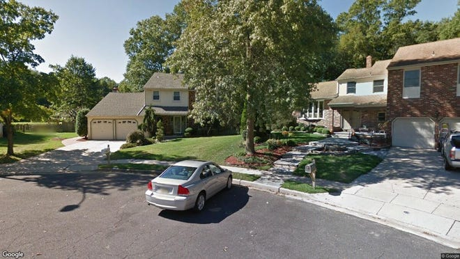This Google Street View image shows the approximate location of 8 Sheffield Court in Mount Laurel. The property at this address changed hands in September 2019, when new owners bought the property for $375,000.