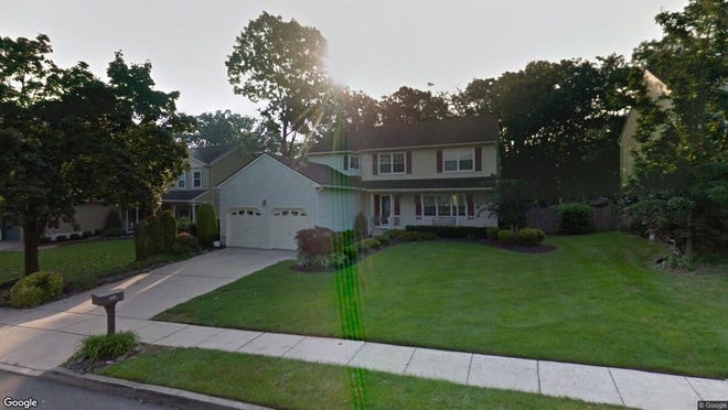 This Google Street View image shows the approximate location of 504 Foxwood Drive in Mount Laurel. The property at this address changed hands in September 2019, when new owners bought the property for $384,900.