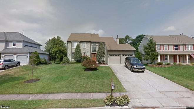 This Google Street View image shows the approximate location of 7 Parkdale Place in Evesham. The property at this address changed hands in September 2019, when new owner bought the property for $385,000.