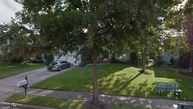 This Google Street View image shows the approximate location of 8 Tide Water Lane in Evesham. The property at this address changed hands in August 2019, when new owners bought the property for $440,000.