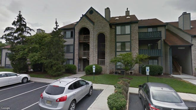 This Google Street View image shows the approximate location of 4305A Aberdeen Drive in Mount Laurel. The property at this address changed hands in August 2019, when new owner bought the property for $102,500.
