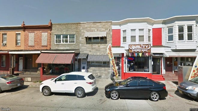 This Google Street View image shows the approximate location of 1416 Mt Ephraim Ave. in Camden. The property at this address changed hands in June 2019, when new owner bought the property for $85,000.