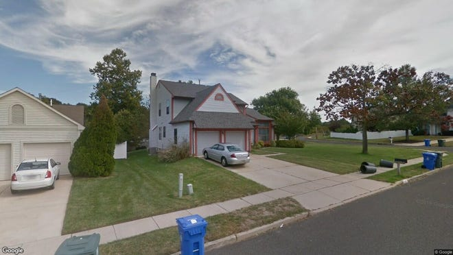 This Google Street View image shows the approximate location of 212 Vermillion Lane in Glassboro. The property at this address changed hands in September 2019, when new owners bought the property for $227,000.