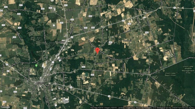 This aerial photo shows the approximate location of 151 S. Woodruff Road in Upper Deerfield. The property at this address changed hands in August 2019, when new owner bought the property for $225,000.
