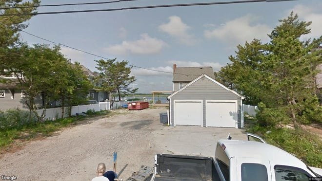 This Google Street View image shows the approximate location of 1038 Barnegat Lane in Mantoloking. The property at this address changed hands in September 2019, when new owners bought the property for $3,225,000.