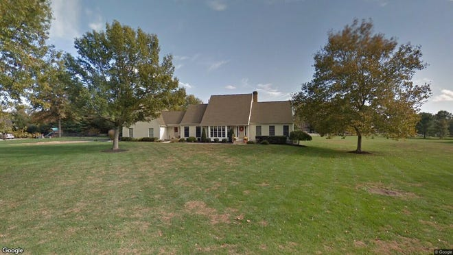 This Google Street View image shows the approximate location of 661 N. Saratoga Drive in Moorestown. The property at this address changed hands in September 2019, when new owner bought the property for $640,000.