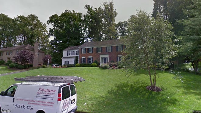 This Google Street View image shows the approximate location of 40 Hampton Road in Chatham Township. The property at this address changed hands in September 2019, when new owners bought the property for $1,425,000.