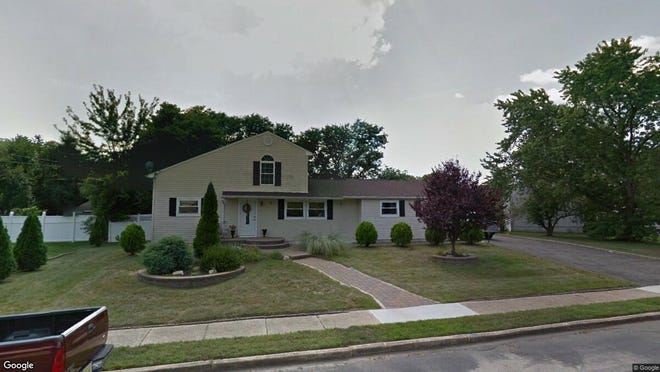 This Google Street View image shows the approximate location of 44 Roberta Drive in Howell. The property at this address changed hands in August 2019, when new owner bought the property for $309,000.