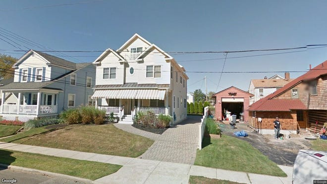 This Google Street View image shows the approximate location of 801 C St. in Belmar. The property at this address changed hands in September 2019, when new owners bought the property for $1,150,000.