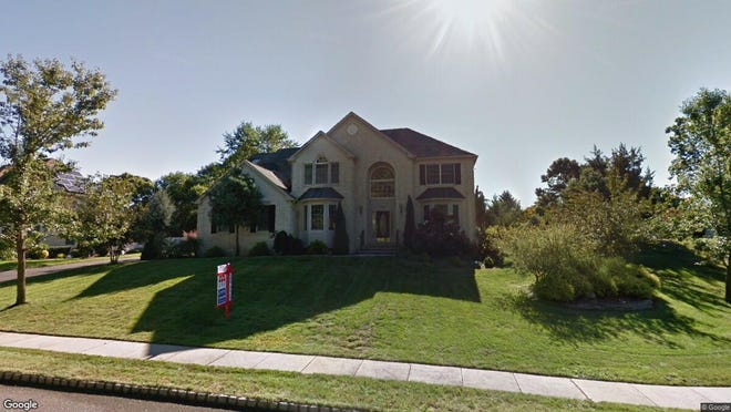 This Google Street View image shows the approximate location of 1253 Old Farm Road in Brick. The property at this address changed hands in September 2019, when new owner bought the property for $582,500.