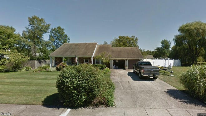This Google Street View image shows the approximate location of 3 Sahara Court in Toms River. The property at this address changed hands in October 2019, when new owners bought the property for $320,000.