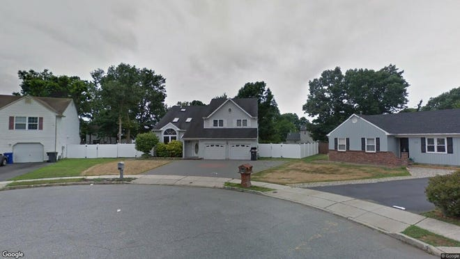 This Google Street View image shows the approximate location of 105 Liberty Bell Road in Toms River. The property at this address changed hands in September 2019, when new owners bought the property for $419,000.