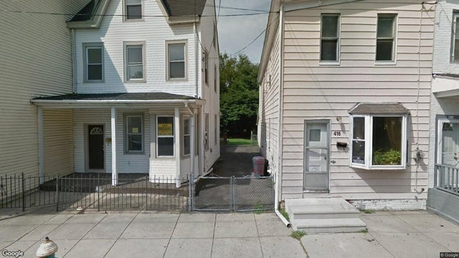 This Google Street View image shows the approximate location of 418 York St. in Burlington City. The property at this address changed hands in September 2019, when new owner bought the property for $71,000.