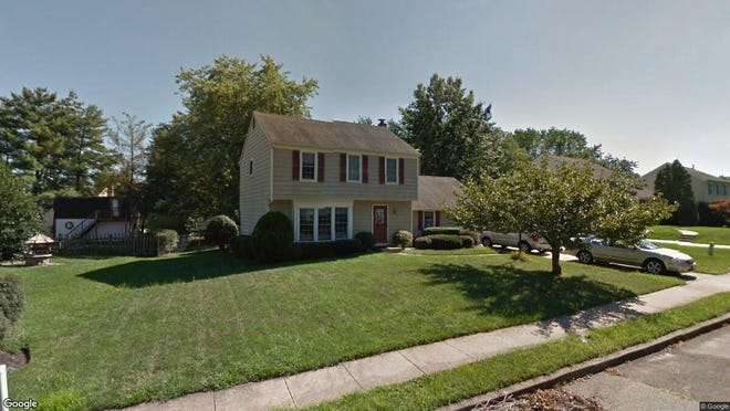 This Google Street View image shows the approximate location of 207 Bentwood Drive in Delran. The property at this address changed hands in September 2019, when new owners bought the property for $249,900.