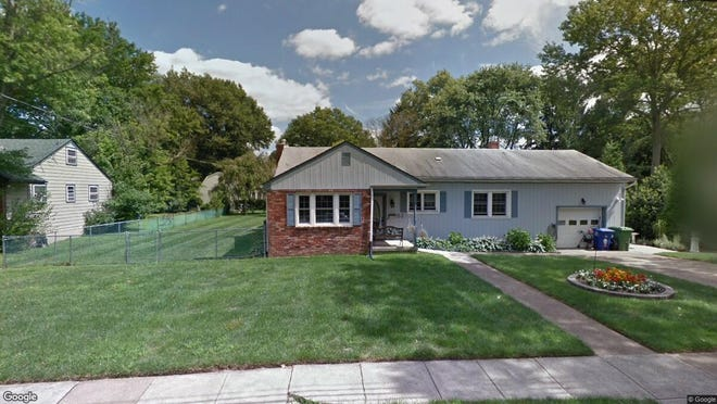 This Google Street View image shows the approximate location of 53 S. Locust Ave. in Evesham. The property at this address changed hands in October 2019, when new owners bought the property for $332,000.