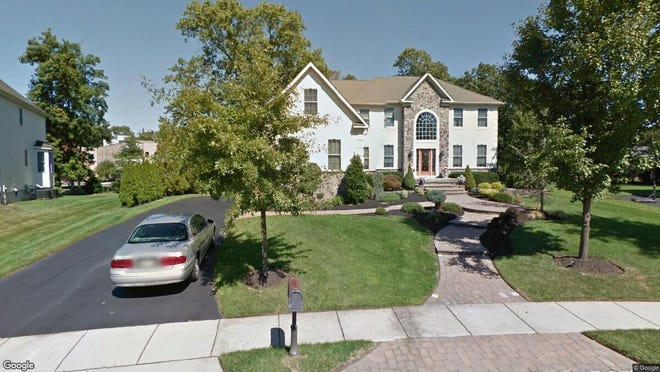 This Google Street View image shows the approximate location of 16 Springville Way in Mount Laurel. The property at this address changed hands in September 2019, when new owners bought the property for $590,000.