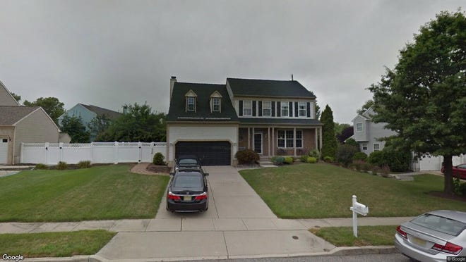 This Google Street View image shows the approximate location of 1211 Plantation Drive in West Deptford. The property at this address changed hands in September 2019, when new owners bought the property for $350,000.