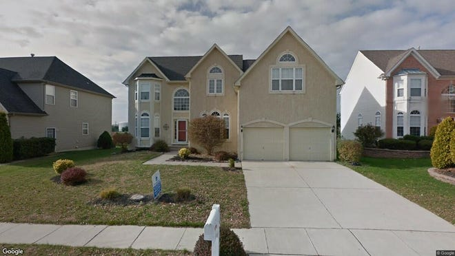 This Google Street View image shows the approximate location of 10 Valley Forge Drive in Woolwich. The property at this address changed hands in September 2019, when new owner bought the property for $382,000.