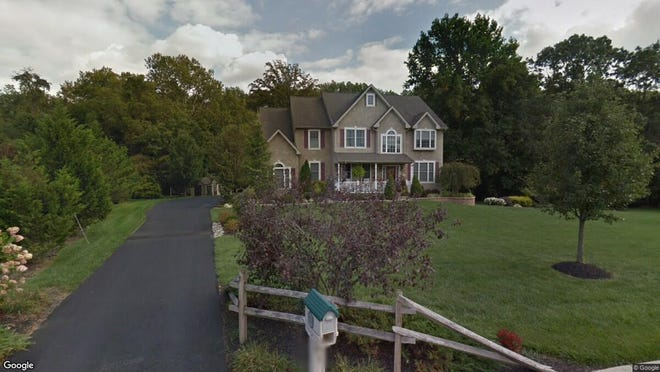 This Google Street View image shows the approximate location of 138 Jockey Hollow Run in Woolwich. The property at this address changed hands in October 2019, when new owners bought the property for $415,000.