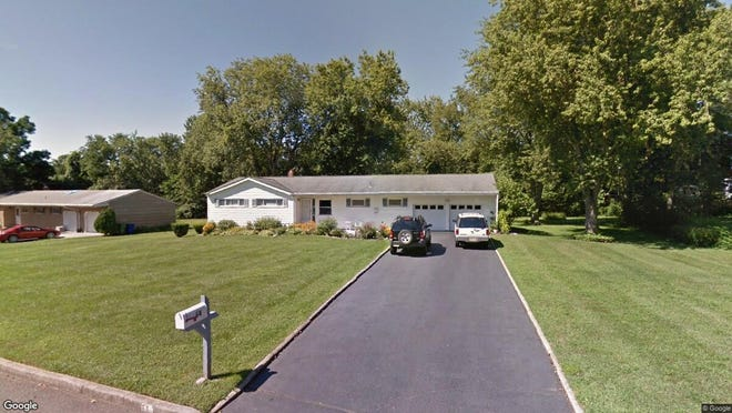This Google Street View image shows the approximate location of 64 Thayer Drive in Tinton Falls. The property at this address changed hands in September 2019, when new owner bought the property for $417,000.