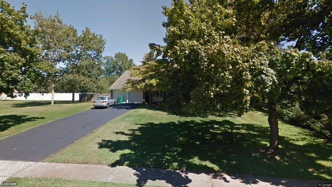 This Google Street View image shows the approximate location of 102 Medford Blvd. in Freehold Township. The property at this address changed hands in October 2019, when new owners bought the property for $520,000.