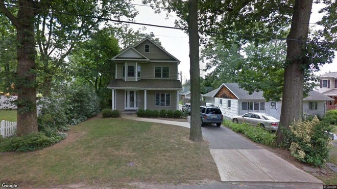 This Google Street View image shows the approximate location of 12 Center St. in Rumson. The property at this address changed hands in October 2019, when new owner bought the property for $750,000.