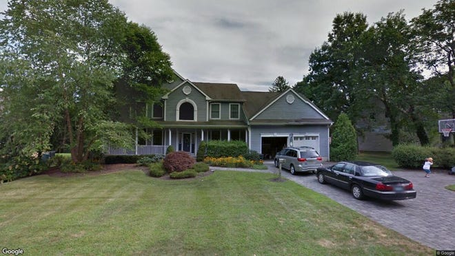 This Google Street View image shows the approximate location of 9 Blossom Road in Rumson. The property at this address changed hands in October 2019, when new owners bought the property for $1,475,000.