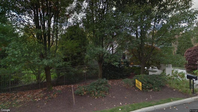 This Google Street View image shows the approximate location of 970 Arapaho Trail in Franklin Lakes. The property at this address changed hands in September 2019, when new owner bought the property for $1,400,000.