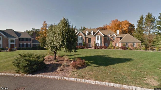 This Google Street View image shows the approximate location of 5 Ponds Edge Lane in Warren. The property at this address changed hands in September 2019, when new owners bought the property for $999,000.