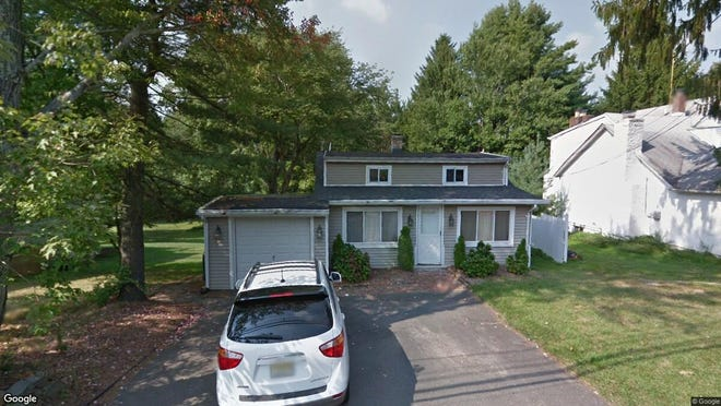 This Google Street View image shows the approximate location of 110 Meyersville Road in Chatham Township. The property at this address changed hands in August 2019, when new owners bought the property for $396,450.