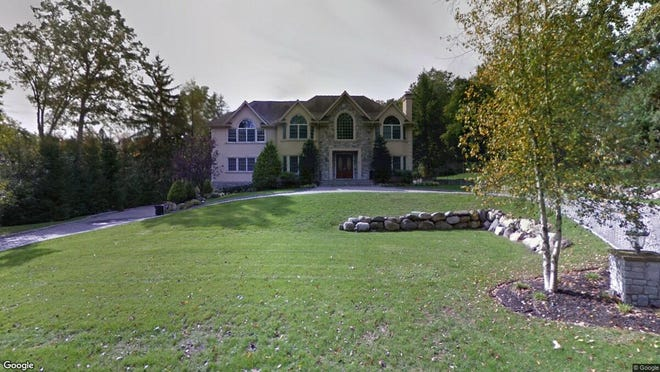 This Google Street View image shows the approximate location of 8 Possum Trail in Upper Saddle River. The property at this address changed hands in July 2019, when new owner bought the property for $1,475,000.
