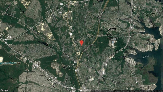 This aerial photo shows the approximate location of 1221 Wilkinson Drive in Toms River. The property at this address changed hands in October 2019, when new owner bought the property for $528,000.