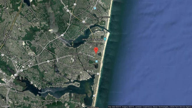 This aerial photo shows the approximate location of 416 Blodgett Ave. in Point Pleasant Beach. The property at this address changed hands in October 2019, when new owners bought the property for $500,000.
