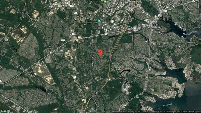This aerial photo shows the approximate location of 2367 Kira Court in Toms River. The property at this address changed hands in October 2019, when new owners bought the property for $355,000.
