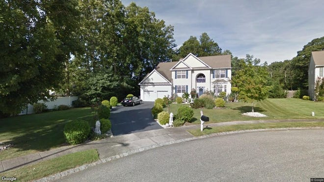 This Google Street View image shows the approximate location of 924 Green Hill Court in Toms River. The property at this address changed hands in October 2019, when new owner bought the property for $450,000.